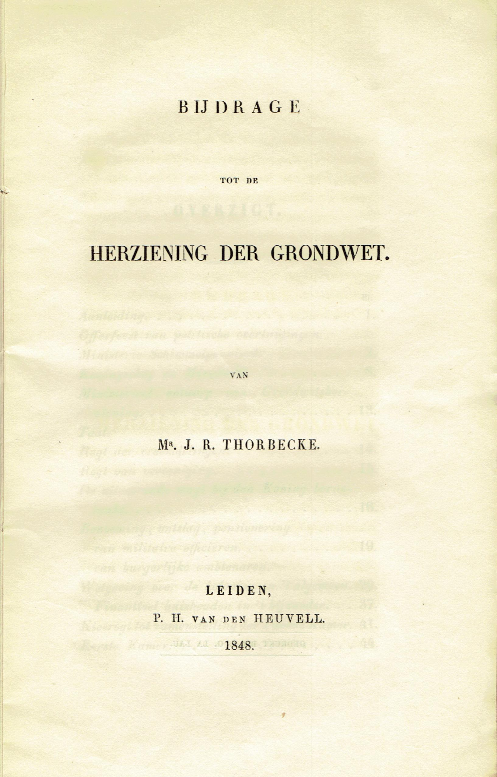 thorbecke48 cover